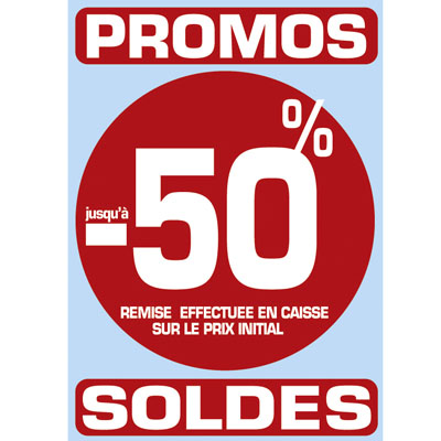Stickers Promos - Soldes -50%