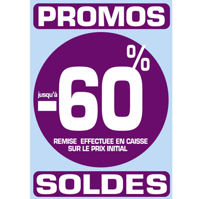 Stickers Promos - Soldes -60%