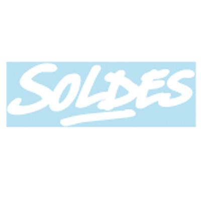 Sticker Soldes Effet graphitis