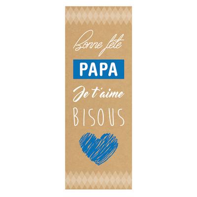 Affiche Bonne fête Papa Verticale