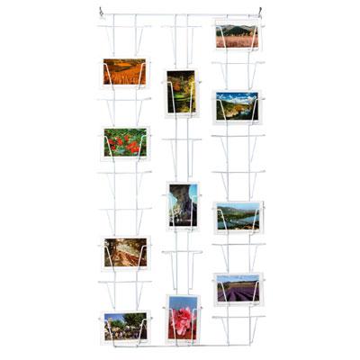 Présentoir mural cartes postales