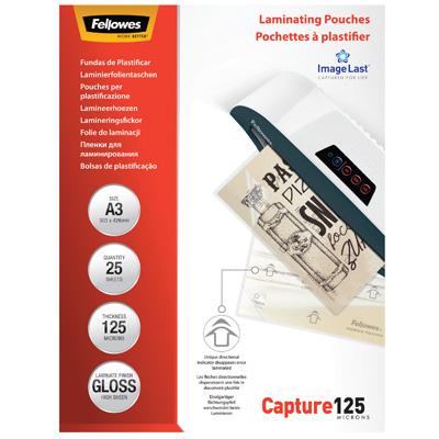 Pochettes de plastification 125 microns