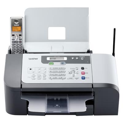 Fax 1560 : fax et copieur jet d'encre N&B avec combiné téléphonique et répondeur