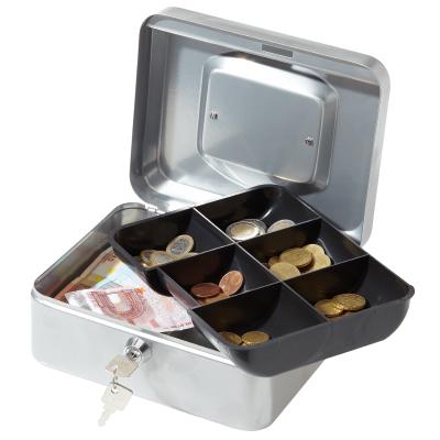 Caisse à monnaie 6 compartiments