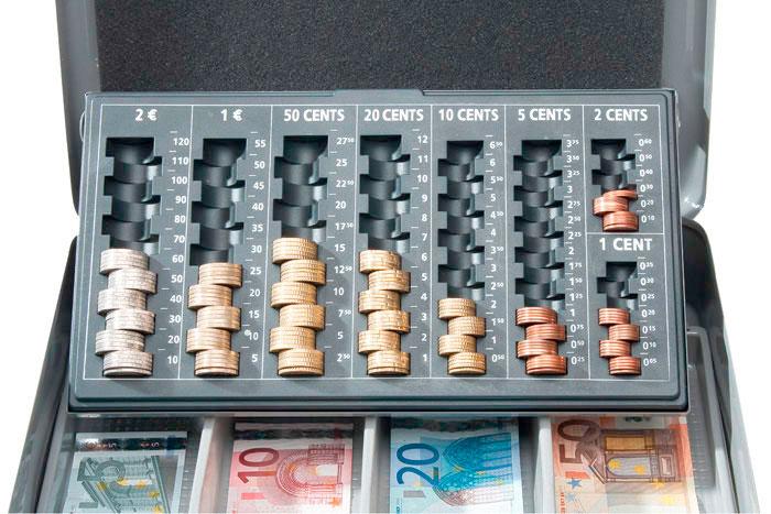 Caisse à monnaie luxe