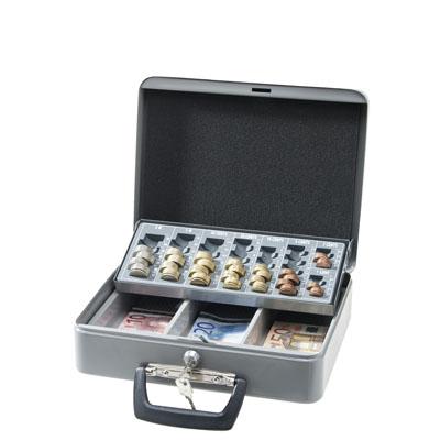 Caisse à monnaie en acier