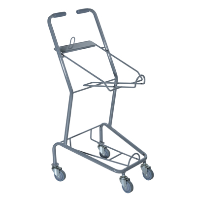 Chariot support paniers