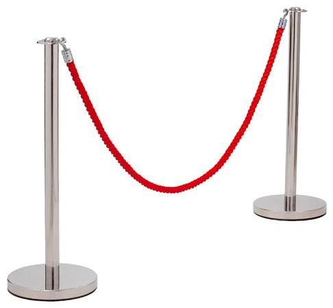 Poteau de balisage à corde