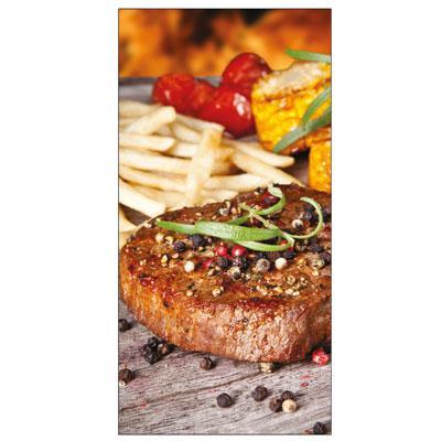 Sticker adhésif Steak frites