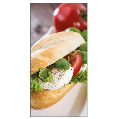 Sticker adhésif sandwich