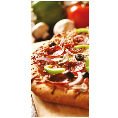 Sticker adhésif pizza