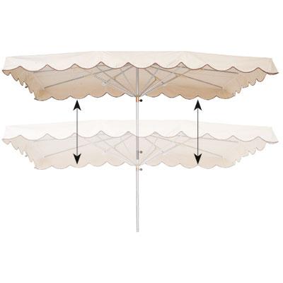 Parasol télescopique