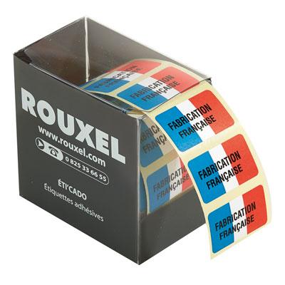 Étiquettes cadeaux adhésives Fabrication française