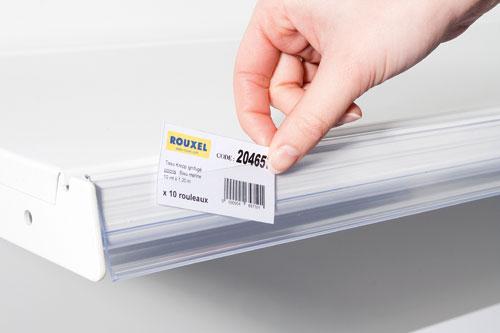 Étiquettes carton pré-découpées
