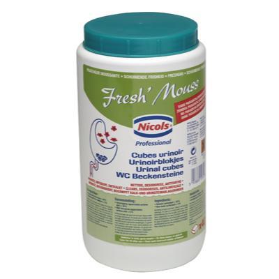 Fresh'Mouss cube urinoir