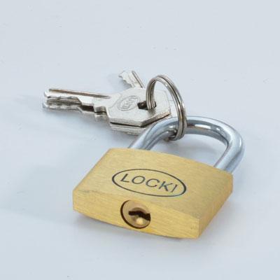 Cadenas laiton + 3 clés