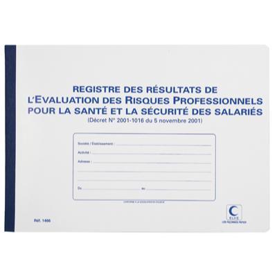Registre d'évaluation des risques professionnels