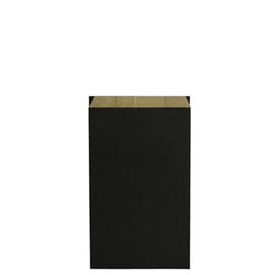pochette cadeau kraft verg noir 16 8 x 27 5 cm. Black Bedroom Furniture Sets. Home Design Ideas