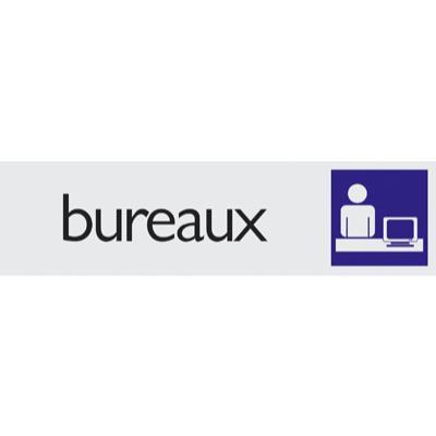 Plaque alu Bureaux