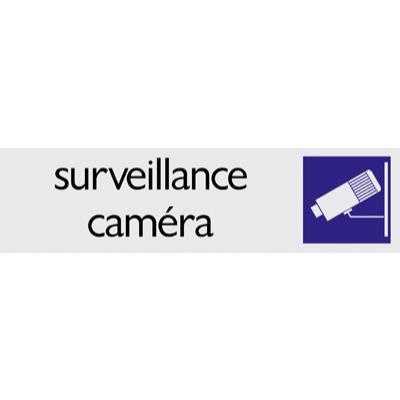 Plaque alu Surveillance caméra