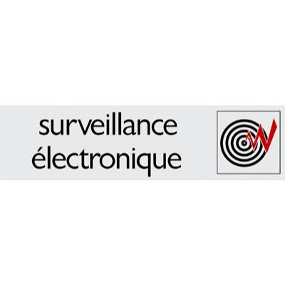 Plaque alu Surveillance électronique