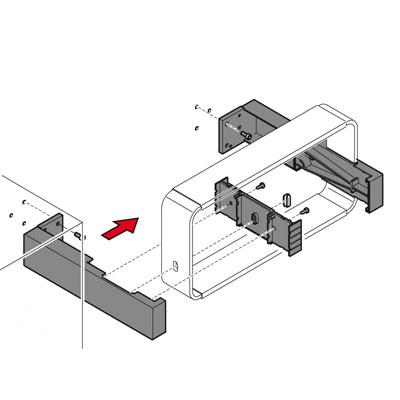 Supports muraux latéraux