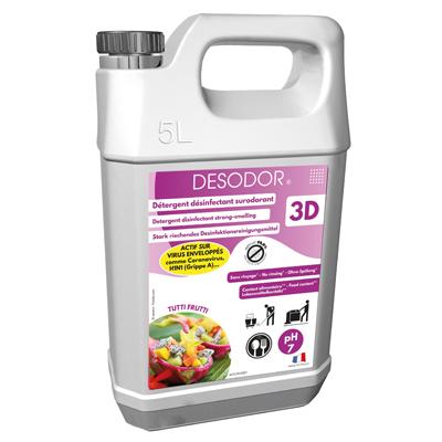 Détergent désinfectant 3D Tutti frutti