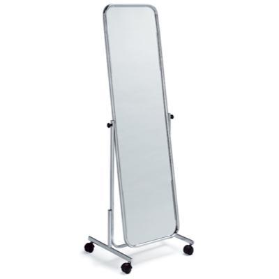 Miroir orientable sur roulettes for Miroir orientable