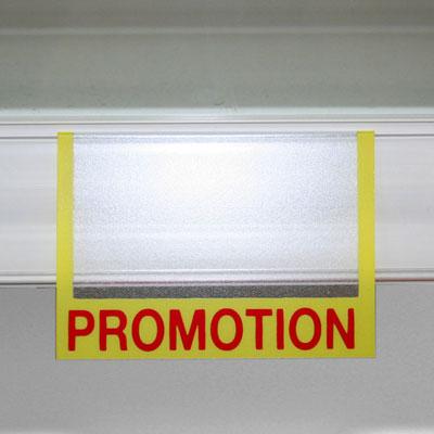Porte étiquette Promotion