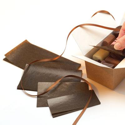 Intercalaires ballotins à chocolats