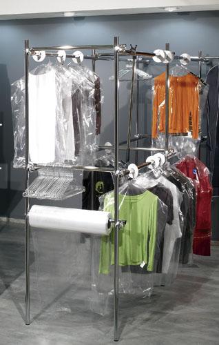 Housses à vêtements plastique
