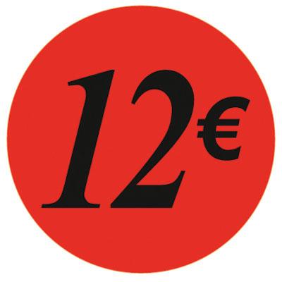 Gommettes adhésives 12€
