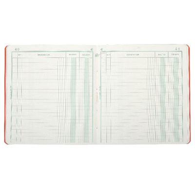 Cahier piqure recettes / dépenses