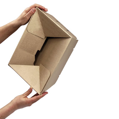 Cartons à hauteurs variables