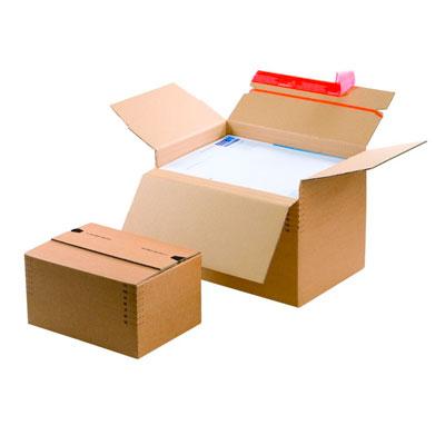 Cartons à hauteurs variables