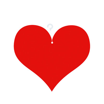 Coeurs à suspendre