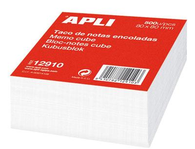 Bloc cube encollé