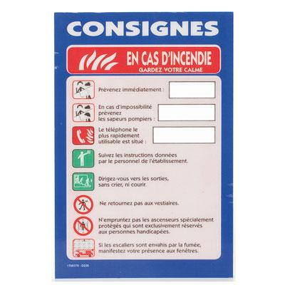 Consignes générales B