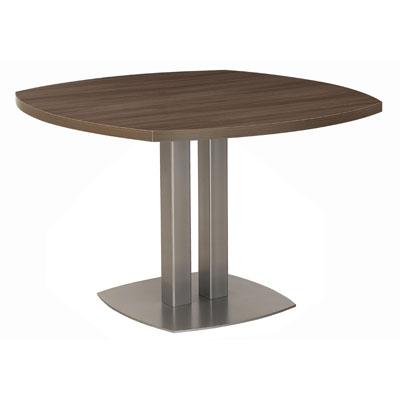 Table de réunion 4 coins courbes
