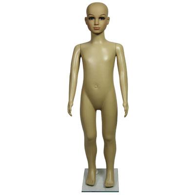Mannequin fille 5 ans avec perruque cheveux longs