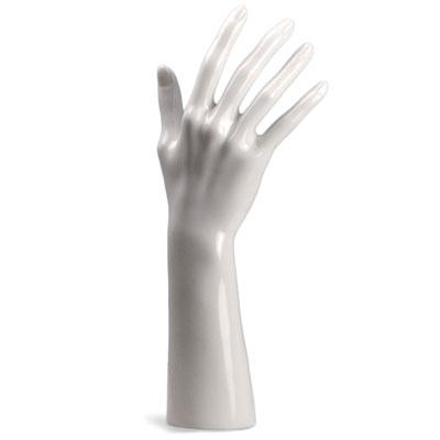 Présentoir main femme laqué