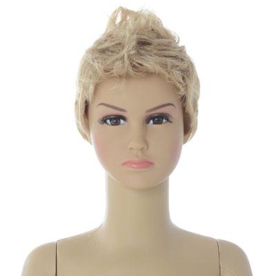Perruque garçon cheveux courts blonds