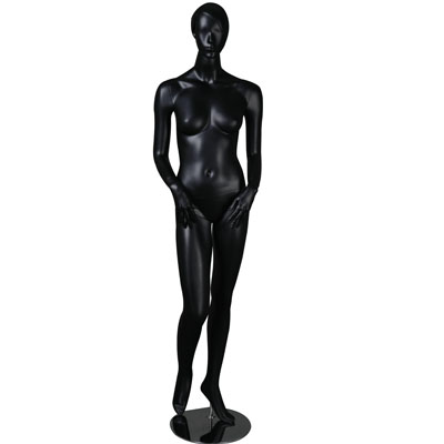 Mannequin femme tête et cheveux sculptés