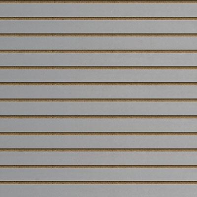 Panneaux rainurés Gris, entraxe 10 cm