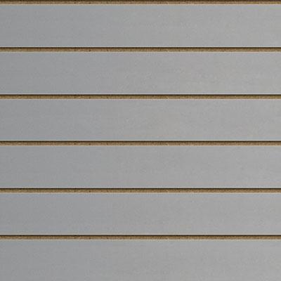 Panneaux rainurés Gris, entraxe 20 cm