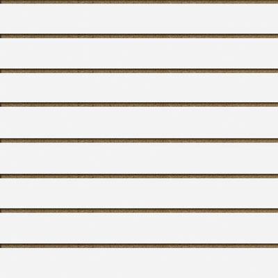 Panneaux rainurés Blanc Craie, entraxe 15 cm