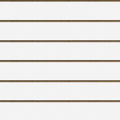 Panneaux rainurés Blanc Craie, entraxe 20 cm