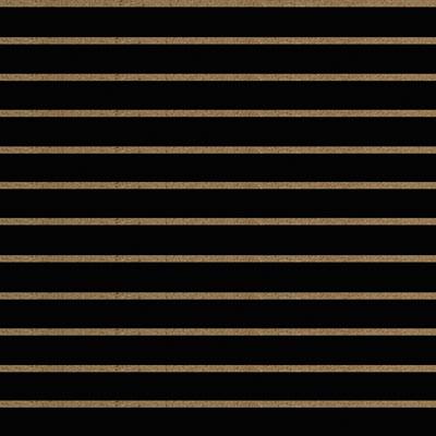 Panneaux rainurés Noirs, entraxe 10 cm