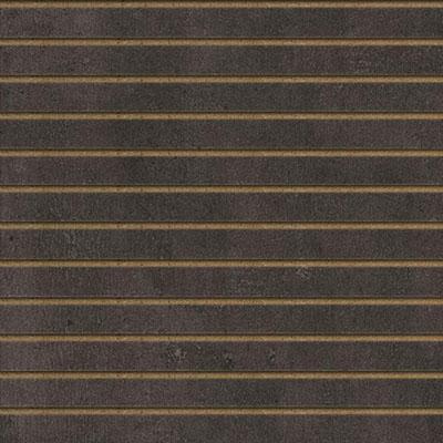 Panneaux rainurés Béton sombre, entraxe 10 cm