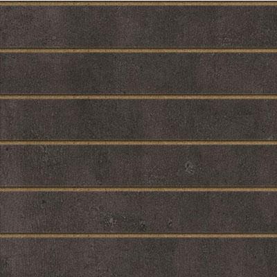 Panneaux rainurés Béton sombre, entraxe 20 cm
